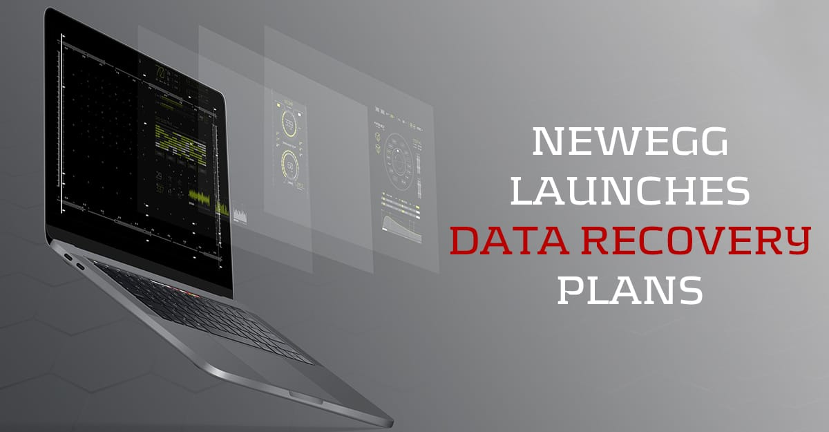 NewEgg Launches Data Recovery Plans