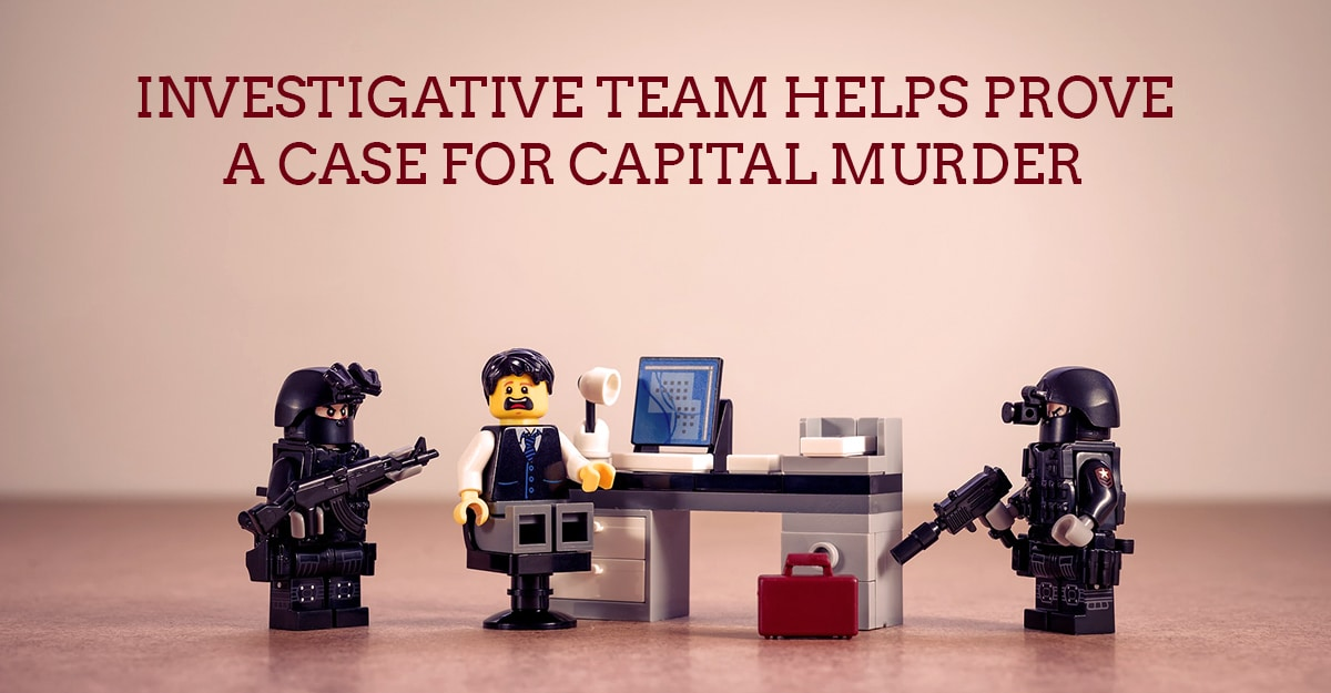 Case Study: With UFED Physical Analyzer, Investigative Team Helps Prove A Case For Capital Murder