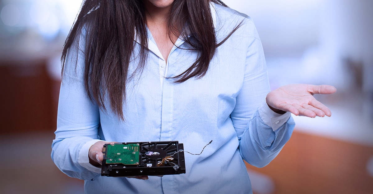 Crashed Hard Drives: When In Doubt, Don't Throw It Out