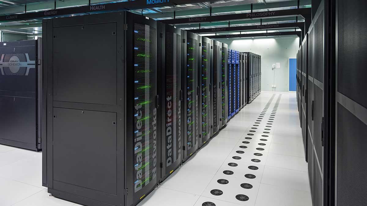 RAID Servers In High Performance Computing Center
