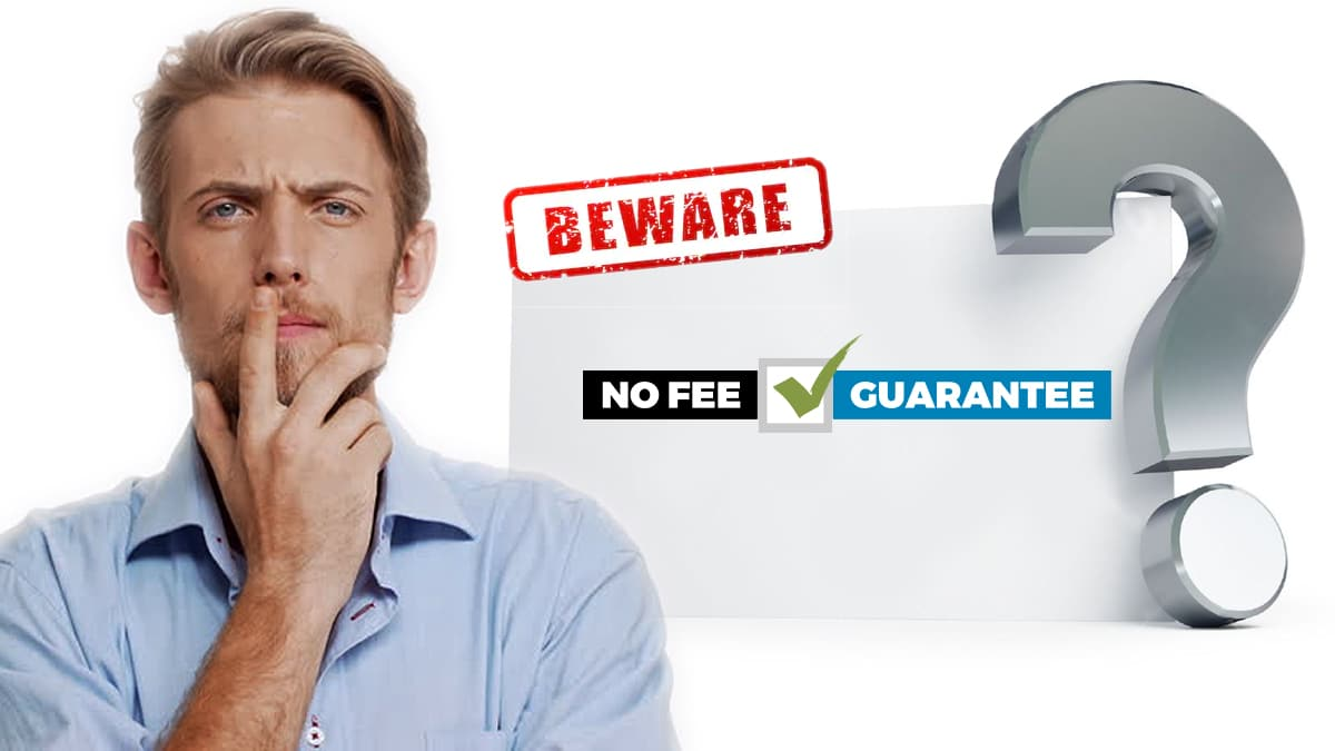 Beware No Fee Guarantee For Data Recovery