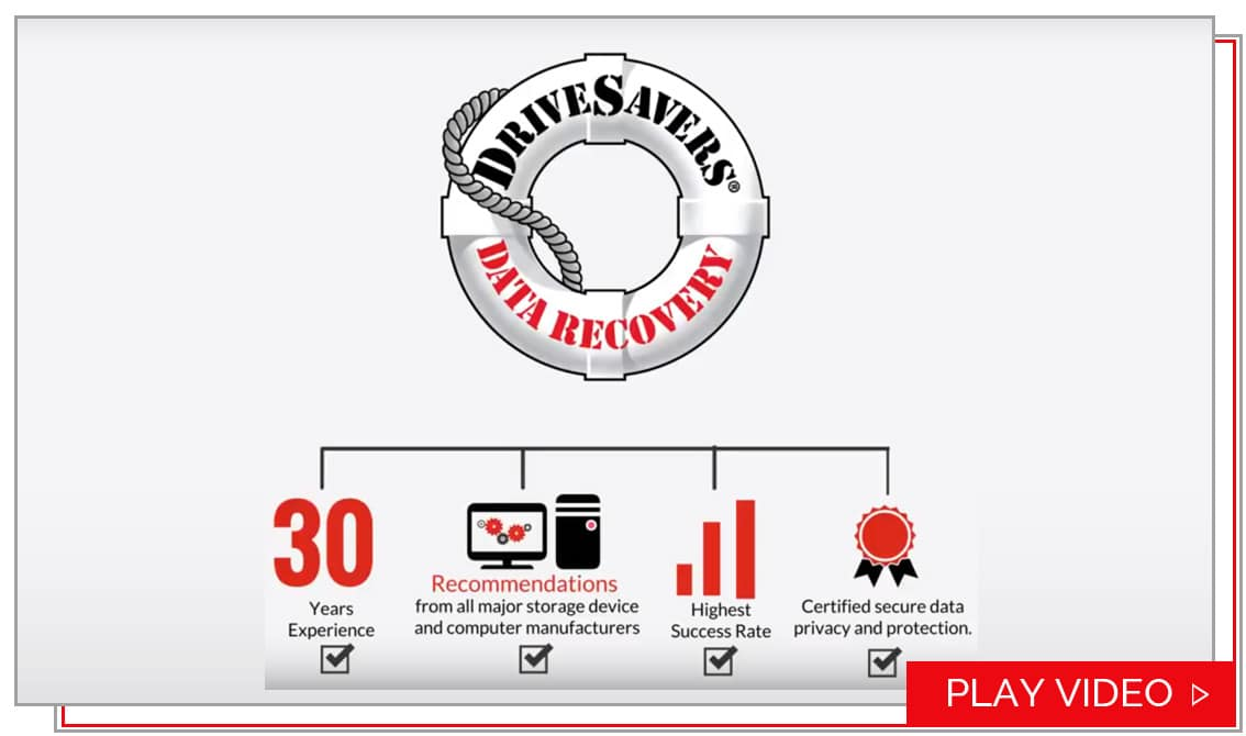 Data Recovery How It Works Drivesavers