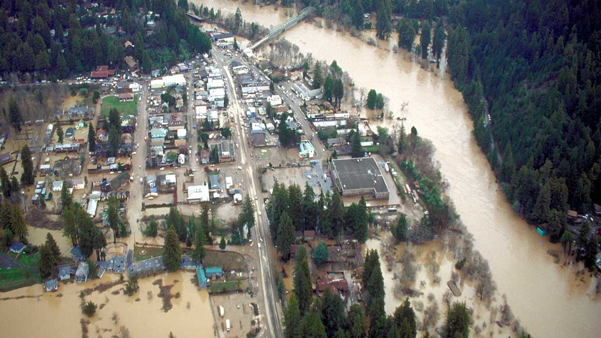 Russian River Flood 2019