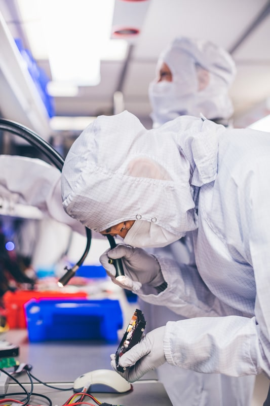 , Certified ISO Class 5 Cleanroom