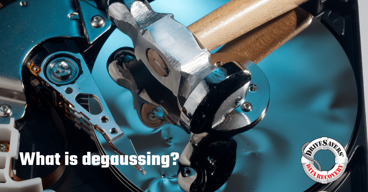 Everything You Need To Know About Hard Drive Degaussing