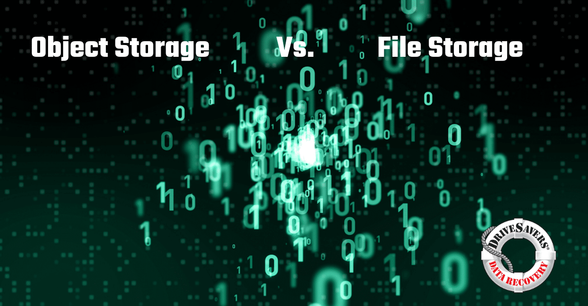 Object Storage Vs. File Storage Vs. Block Storage: What's The Difference?