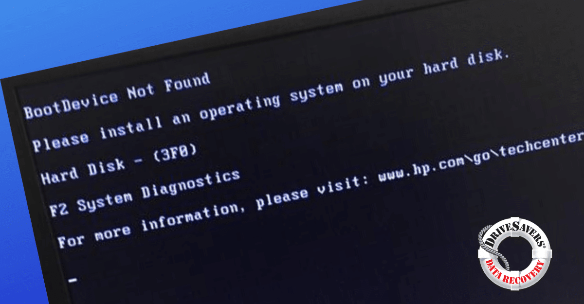 Everything You Need To Know About Boot Device Not Found Errors