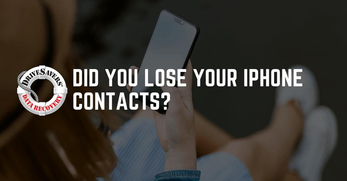 How To Get Contacts Back On An IPhone